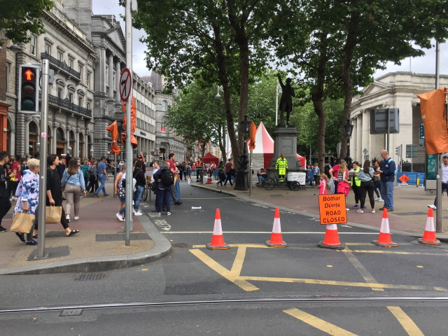 College Green road closed